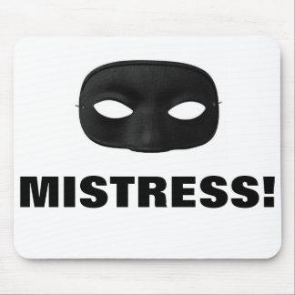 MISTRESS MASK MOUSE PAD