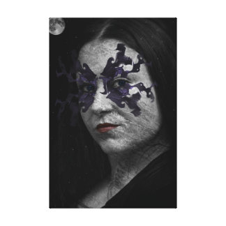 Mistress of the Night Stretched Canvas Prints