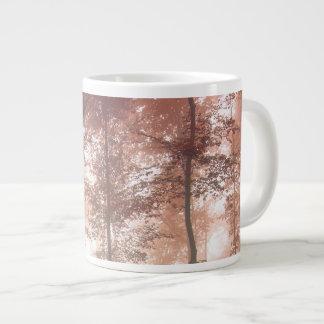 Misty Autumn Forest 20 Oz Large Ceramic Coffee Mug Jumbo Mug