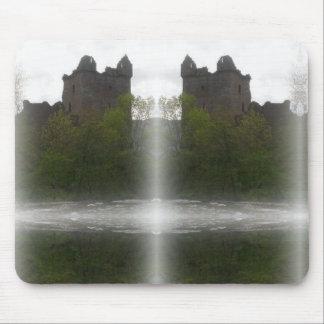 Misty Castle Mouse Mat