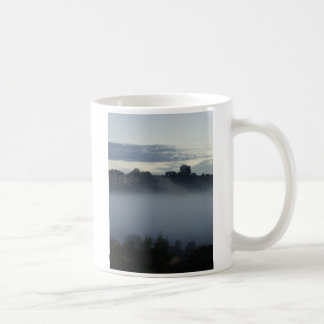 Misty City Basic White Mug