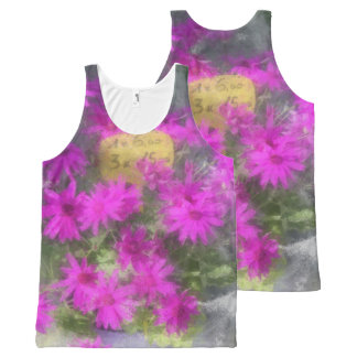 Misty Floral All-Over Print Tank Top