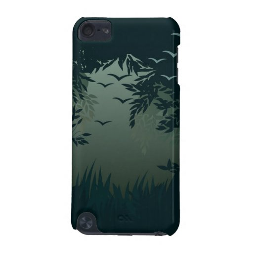 misty forest case iPod touch (5th generation) case