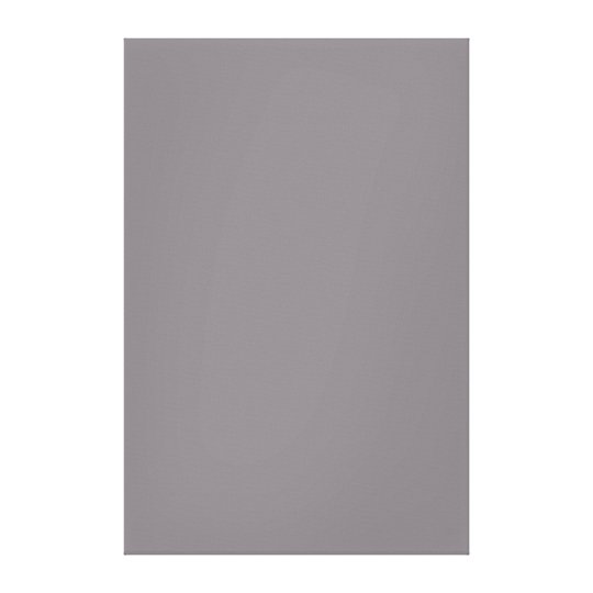 Misty Grey Grey Solid Trend Colour Background Canvas