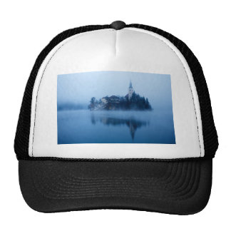 Misty Lake Bled Cap