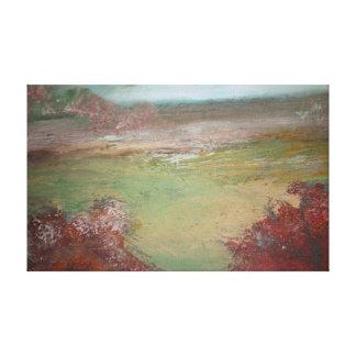 Misty Landscape 2 Canvas Print