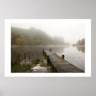 Misty Loch Ard, Scotland - Print