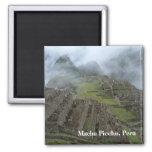 """""""Misty Machu Picchu"""" magnet"""