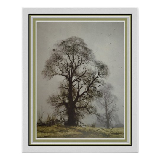 Misty Morn by David Shephard 16 x 20