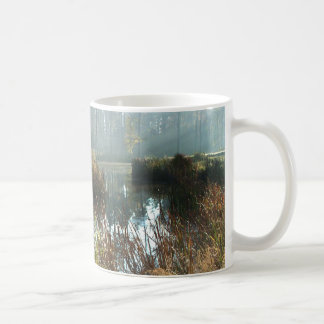 Misty Morning Classic White Coffee Mug