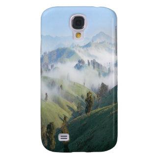 misty morning  Ensay Swifts Creek region Australia Galaxy S4 Case