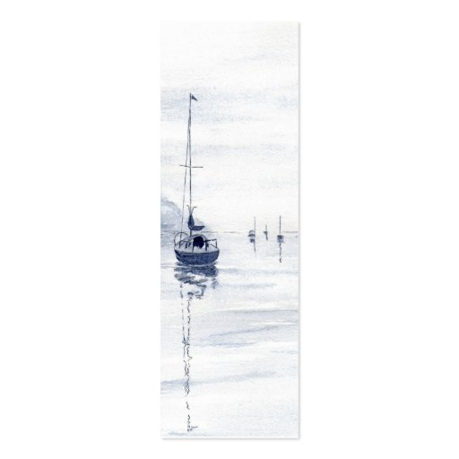 'Misty Morning' Small Bookmark Business Card