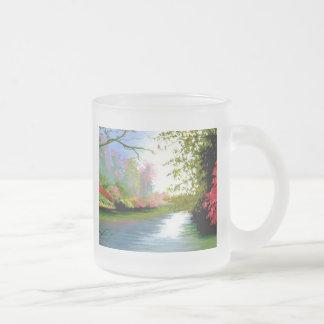 Misty Morning Stream Mugs