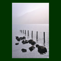 Misty morning, Wastwater, The Lake District Photo Print