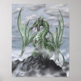 Misty Mountain Print