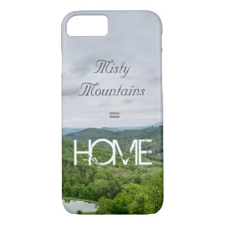 Misty Mountains = HOME iPhone 8/7 Case