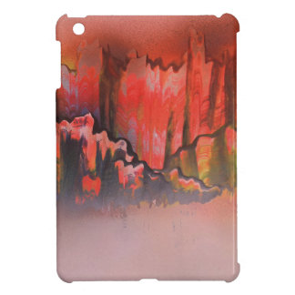 Misty Red Mountains Case For The iPad Mini