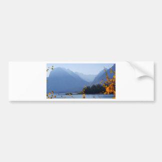 Misty Tetons Bumper Stickers
