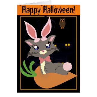 Misty Toon Kitty Bunny! Card