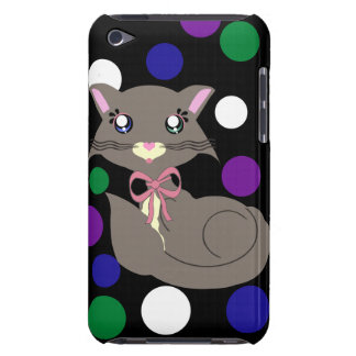 Misty Toon Kitty Dots iPod Case iPod Touch Case-Mate Case