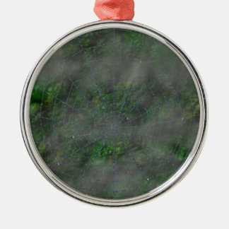 Misty Web Christmas Ornament