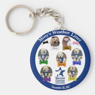 Misty's Weather Litter Keychain