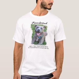 Misunderstood Pit Bull Rescue T-Shirt