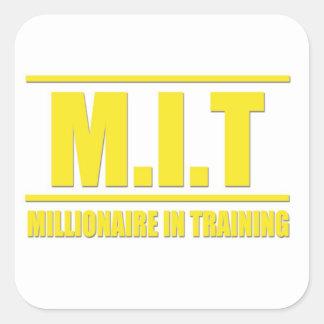MIT (Millionaire In Training) Sticker