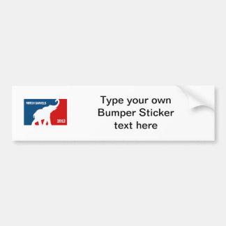 MITCH DANIELS 2012 (Pro) Bumper Sticker