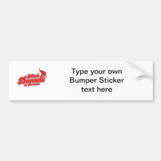 MITCH DANIELS FOR PRESIDENT GOP BUMPER STICKER