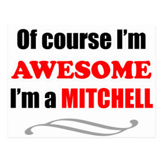 Mitchell Awesome Family Postcard