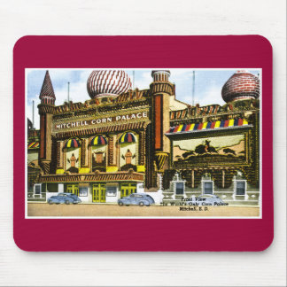 Mitchell Corn Palace, Mitchell, South Dakota Mouse Mat