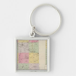 Mitchell County, Cawker City, Simpson, Kansas Key Ring