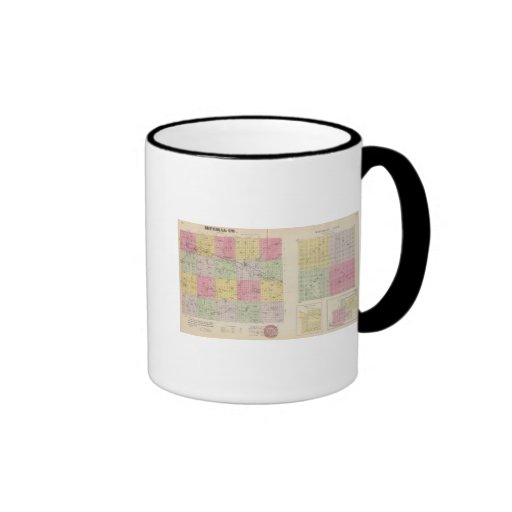 Mitchell County, Cawker City, Simpson, Kansas Coffee Mug