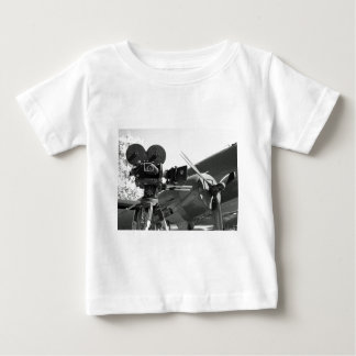 Mitchell movie camera DC-3 Baby T-Shirt