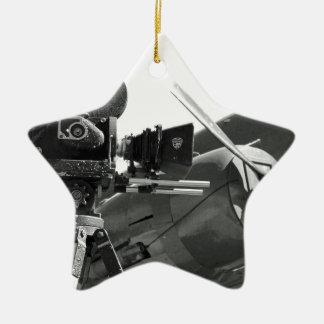 Mitchell movie camera DC-3 Ceramic Star Decoration
