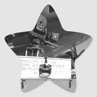 Mitchell movie camera DC-3 Star Sticker