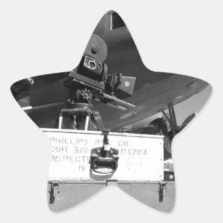 Mitchell movie camera DC-3 Star Sticker