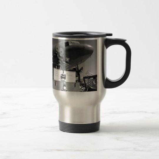 Mitchell movie camera DC-3 Travel Mug