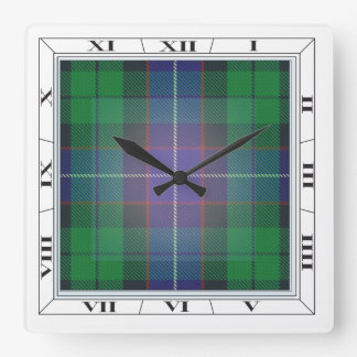 Mitchell (& others) Tartan Wall Clock