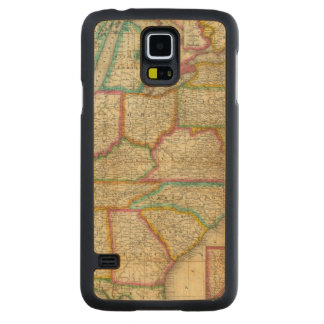 Mitchell's Travellers Guide Maple Galaxy S5 Slim Case