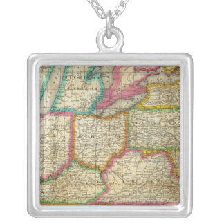 Mitchell's Travellers Guide Silver Plated Necklace