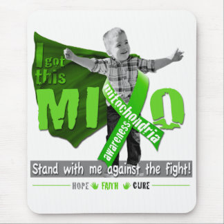 Mito Awareness Hope Faith Cure Mouse Mat