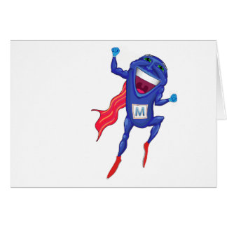 Mitochondria Man Greeting Card