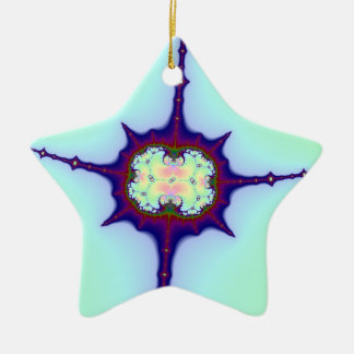 Mitosis Fractal Christmas Ornament