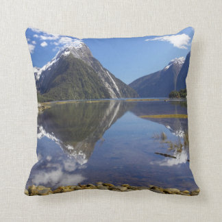 Mitre Peak, Milford Sound, Fiordland National Cushion