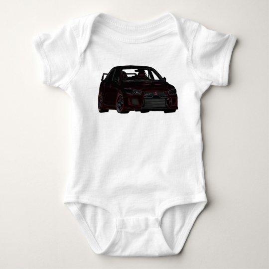 Mitsubishi Evo Baby Bodysuit