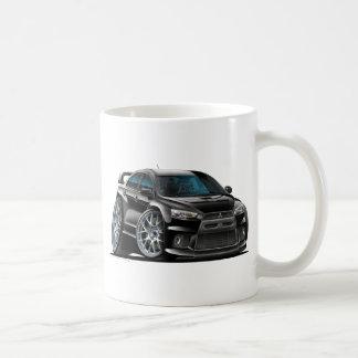 Mitsubishi Evo Black Car Coffee Mug