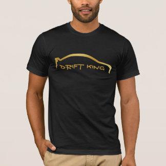 """Mitsubishi EVO """"Drift King"""" Gold Silhouette T-Shirt"""