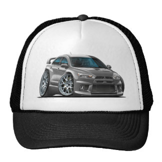 Mitsubishi Evo Grey Car Cap